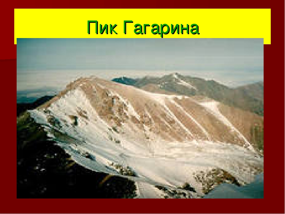 Пик Гагарина