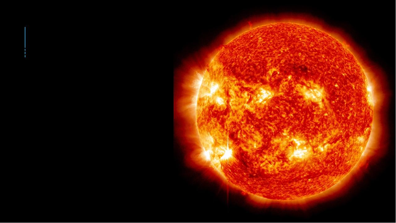 Диаметр Солнца равен 1 млн 392 тыс. км (109 диаметров Земли). Объем Солнца, т...