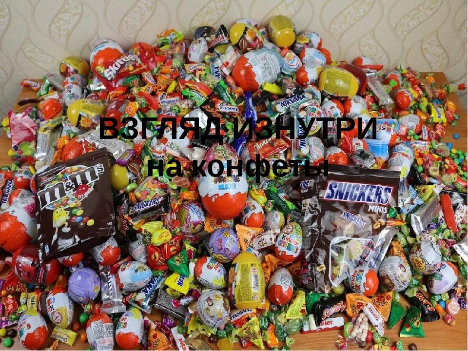ВЗГЛЯД ИЗНУТРИ на конфеты