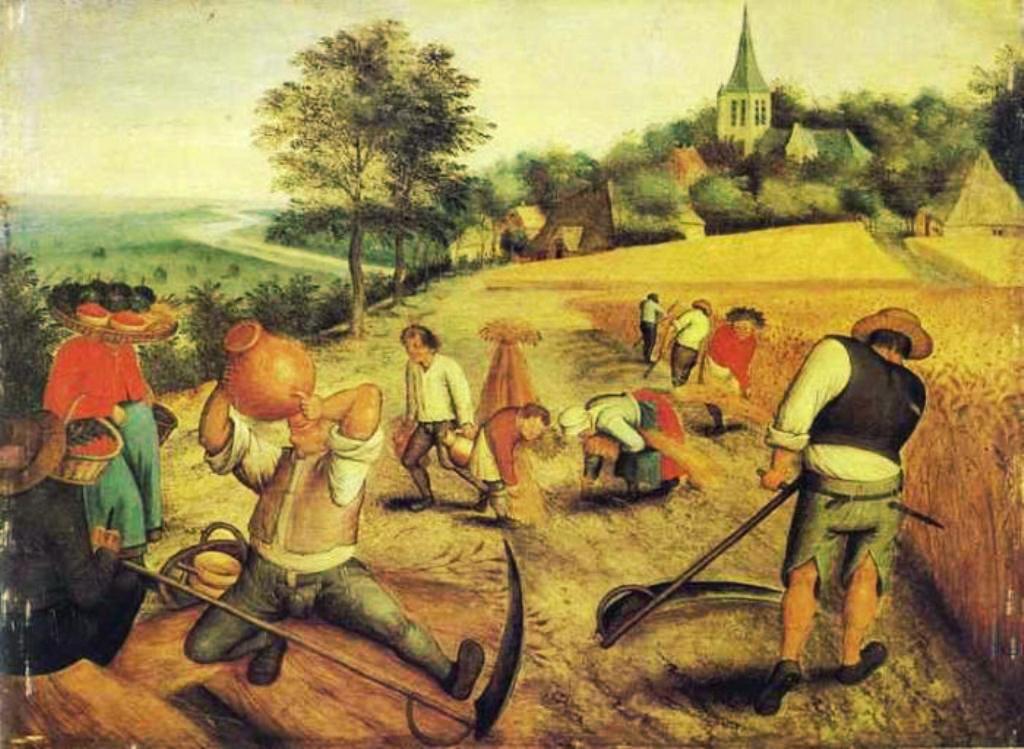 под аграрное общество это картинки просто