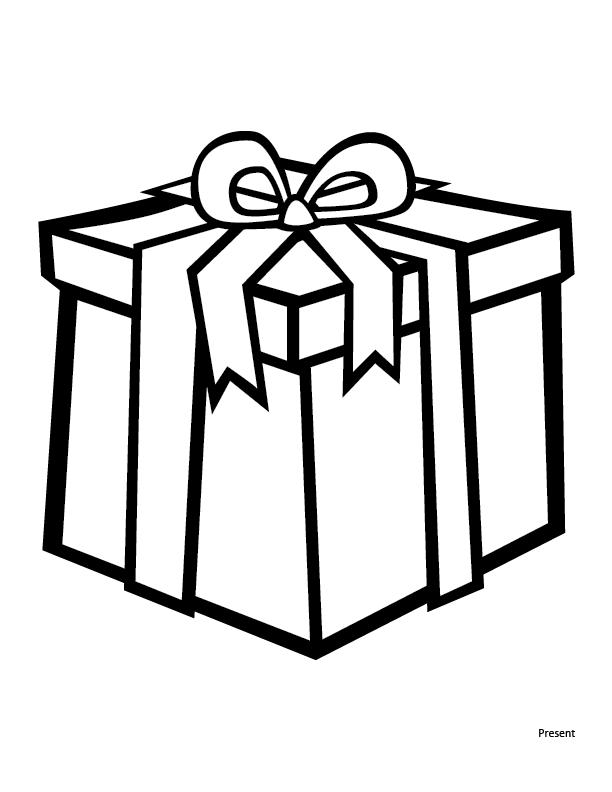 Без, картинки подарочные коробки раскраска