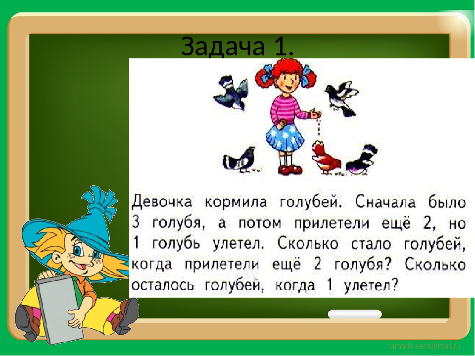 Задача 1. tamarik-sem@mail.ru