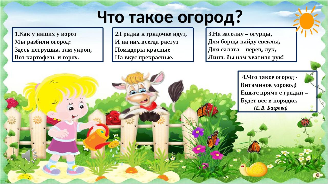 загадки сад и огород 2