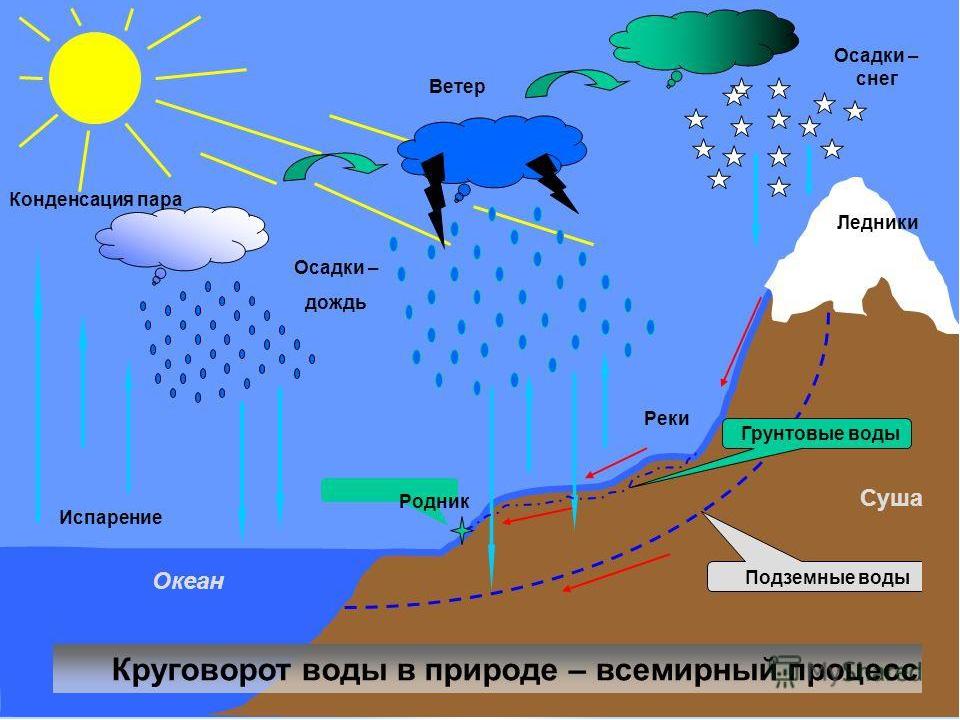 красивые картинки круговорот воды в природе вам для ознакомления