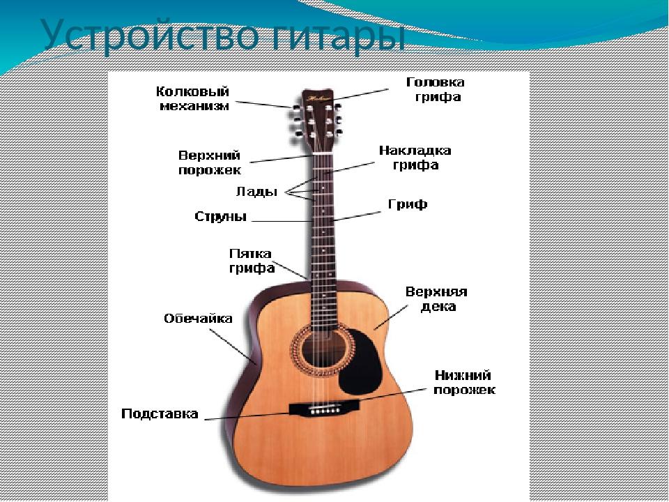 если схема строения гитары будете снимать таком