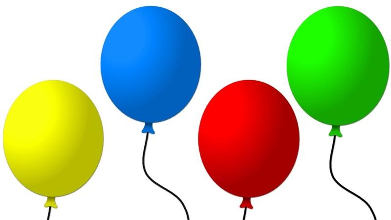 Разноцветные шары картинки для детей