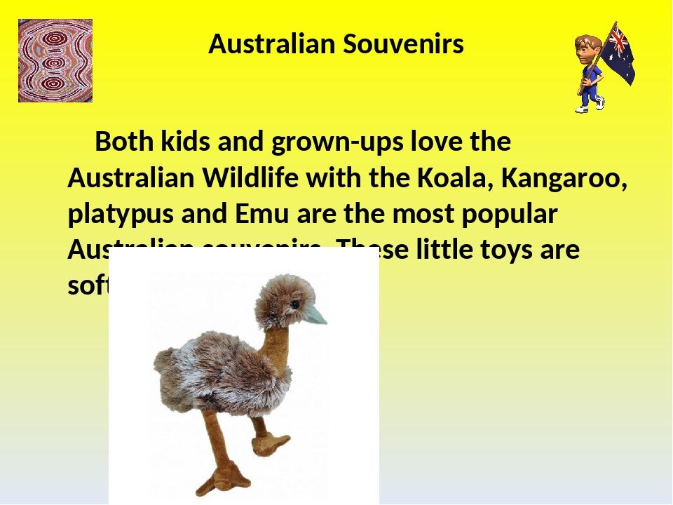 Australian Souvenirs Both kids and grown-ups love the Australian Wildlife wit...