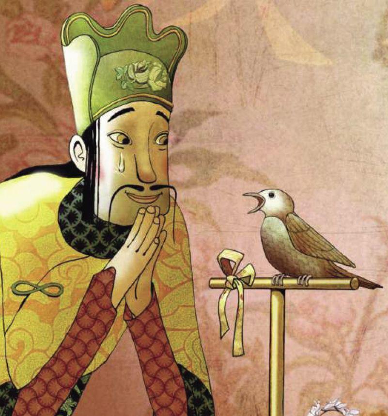 картинки из сказок андерсена соловей копали