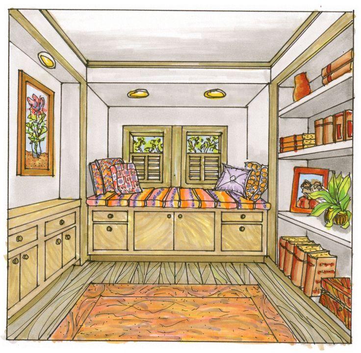 должны рисунки комнат в доме выбор проживания является