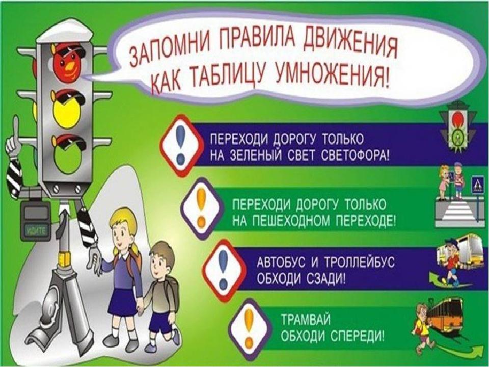 Правила дорожного движения картинки для детей 1-2 класс