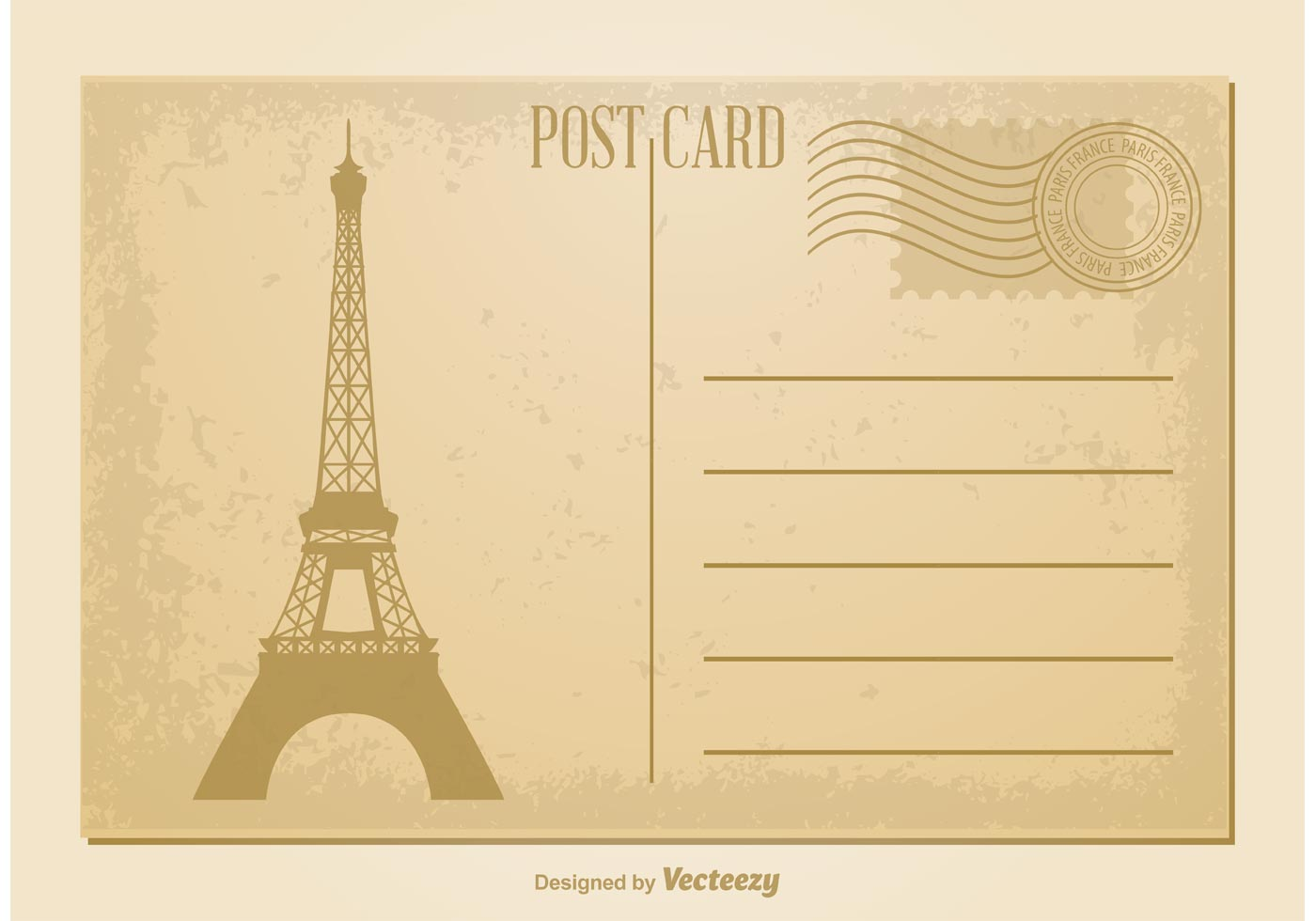 Как оформить английскую открытку