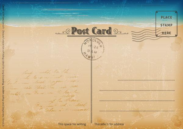 Открытка, почтовая открытка на английский язык