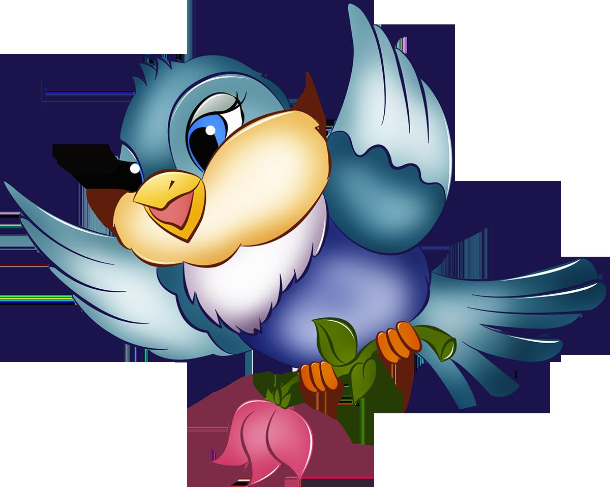 дитяча картинка пташки уже