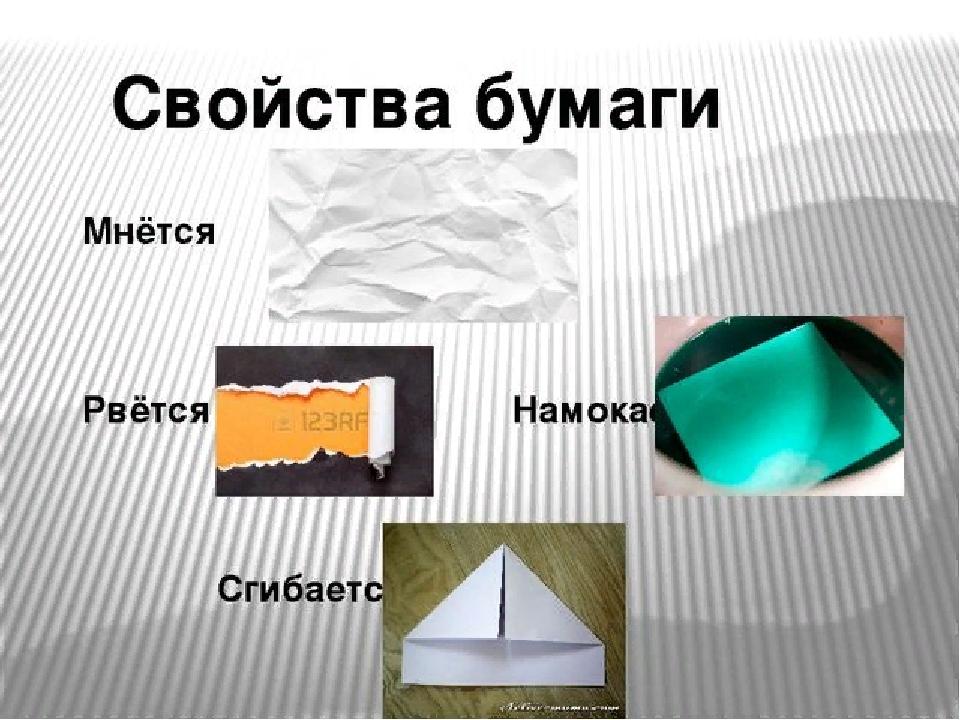 Картинка свойства и качества материалов