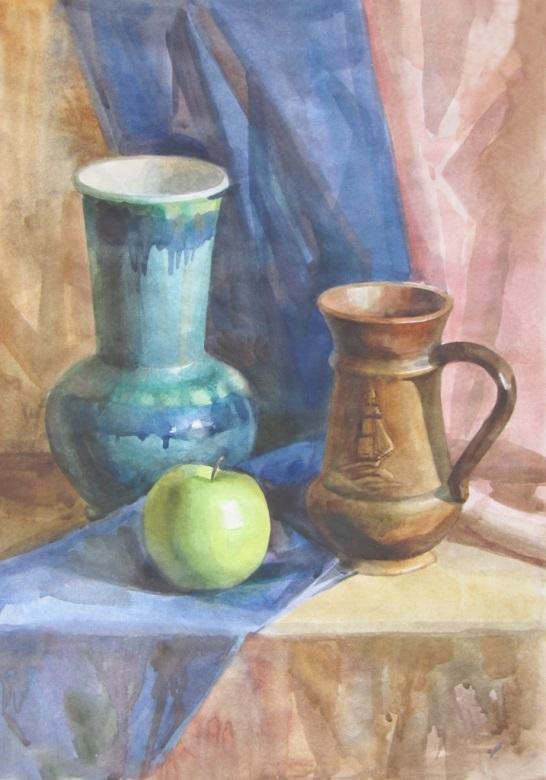 Методические рекомендации к практической работе по живописи