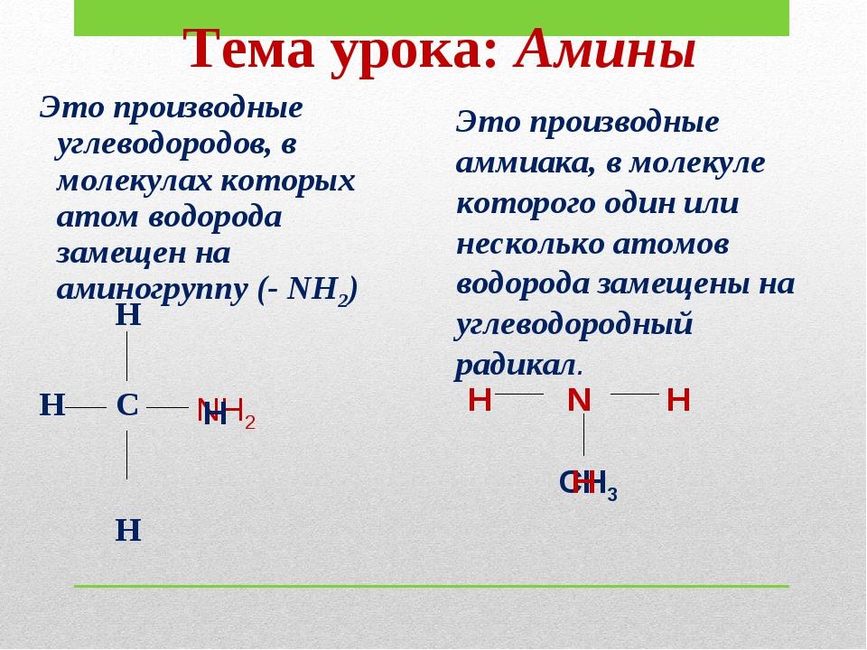 Это производные углеводородов, в молекулах которых атом водорода замещен на...