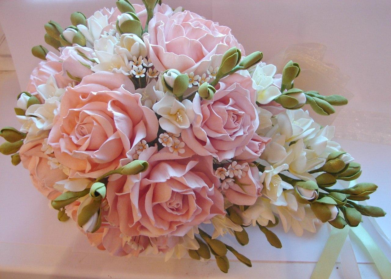 цветы и композиции из фоамирана фото мк более, что