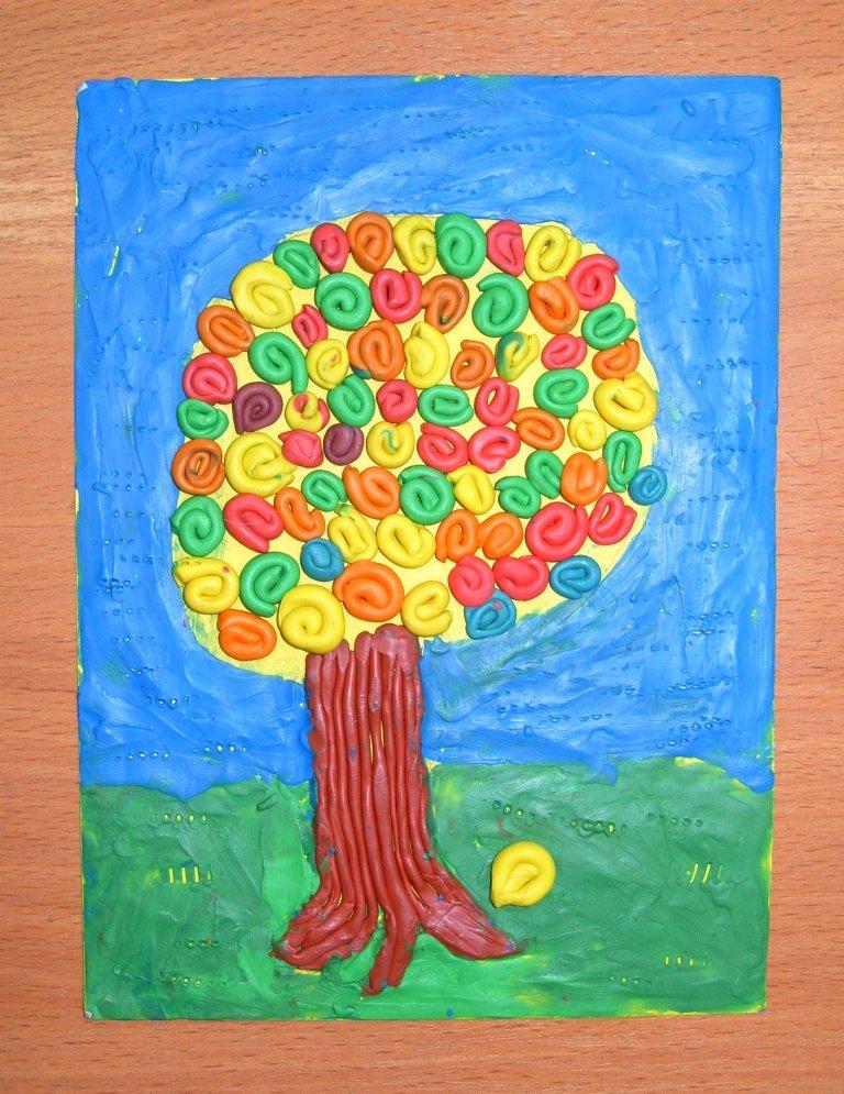 Пластилинография в начальной школе картинки