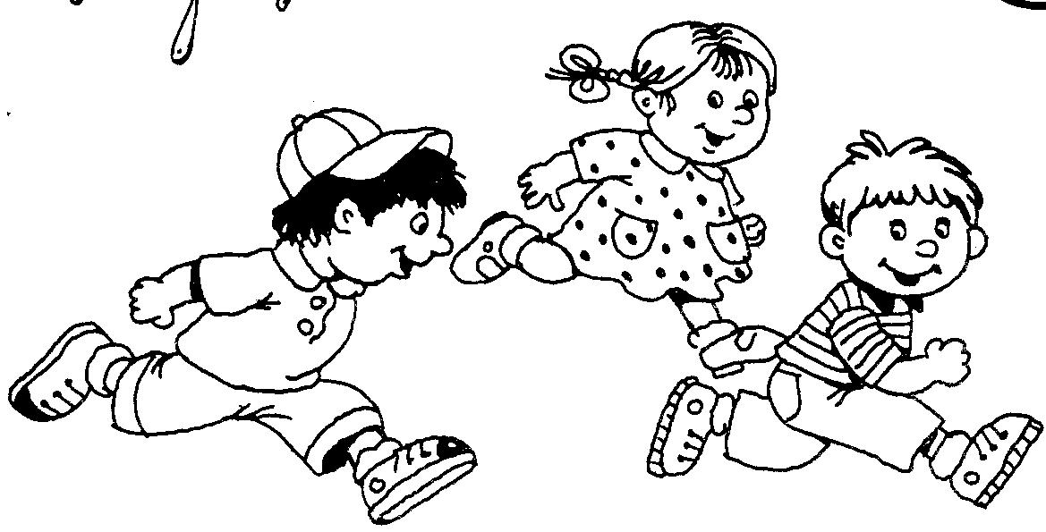 Картинки дети играют в детском саду раскраска