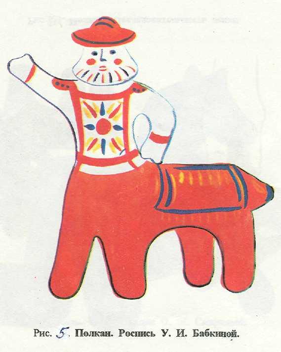 каргопольская игрушка рисунок это для