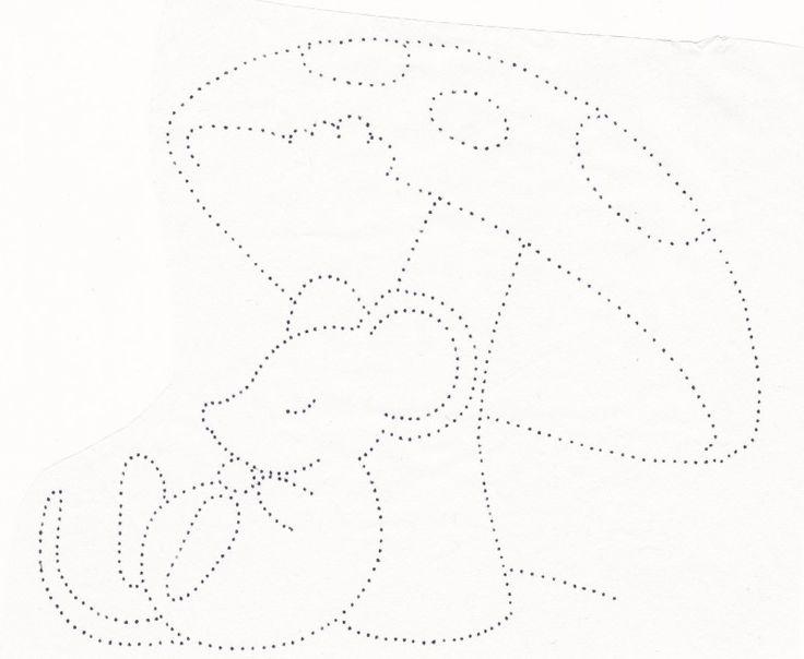 точечные картинки для рисования