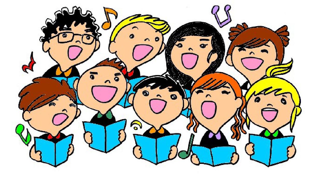 Картинки поющие дети в хоре