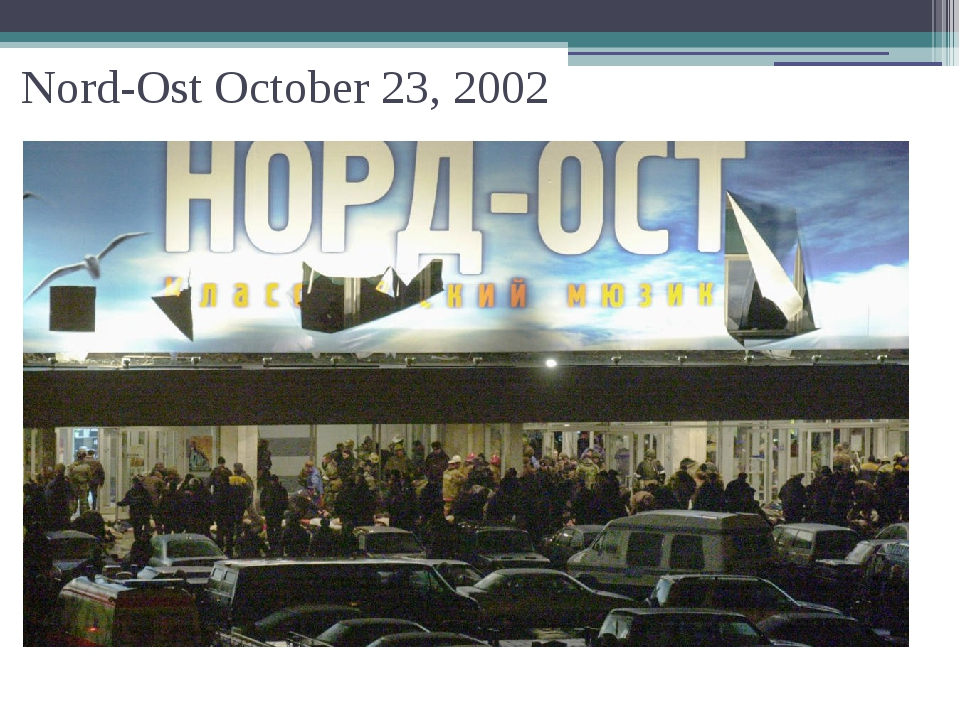 Nord-Ost October 23, 2002