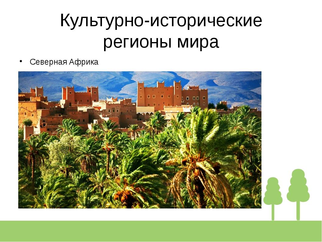 Культурно-исторические регионы мира Северная Африка