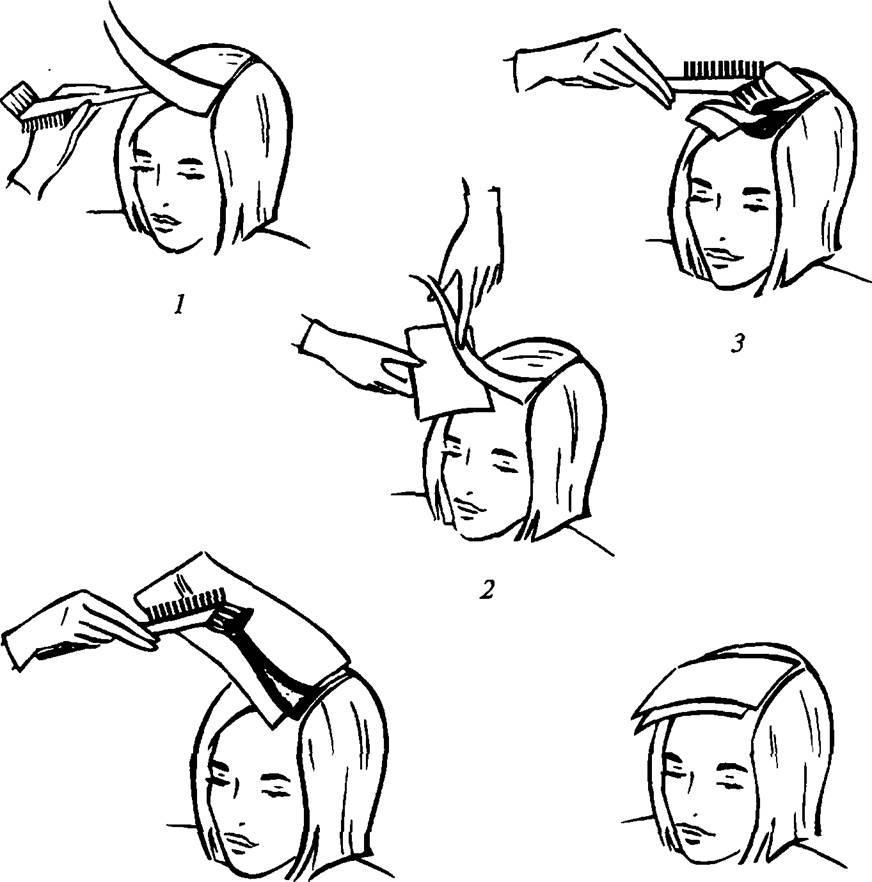 нужно схема окрашивания волос картинки забываем или