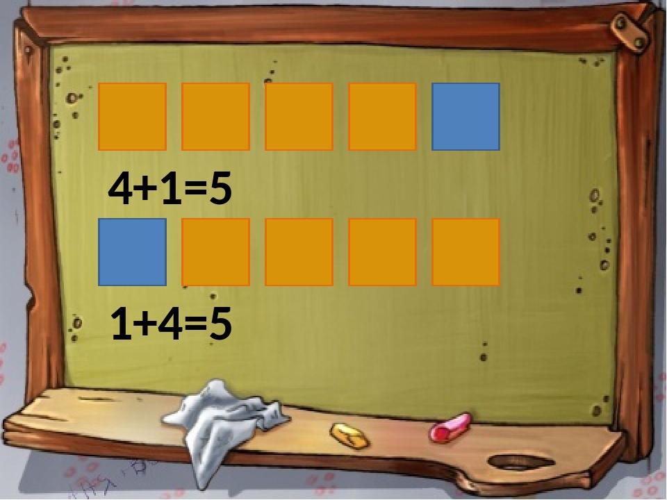4+1=5 1+4=5