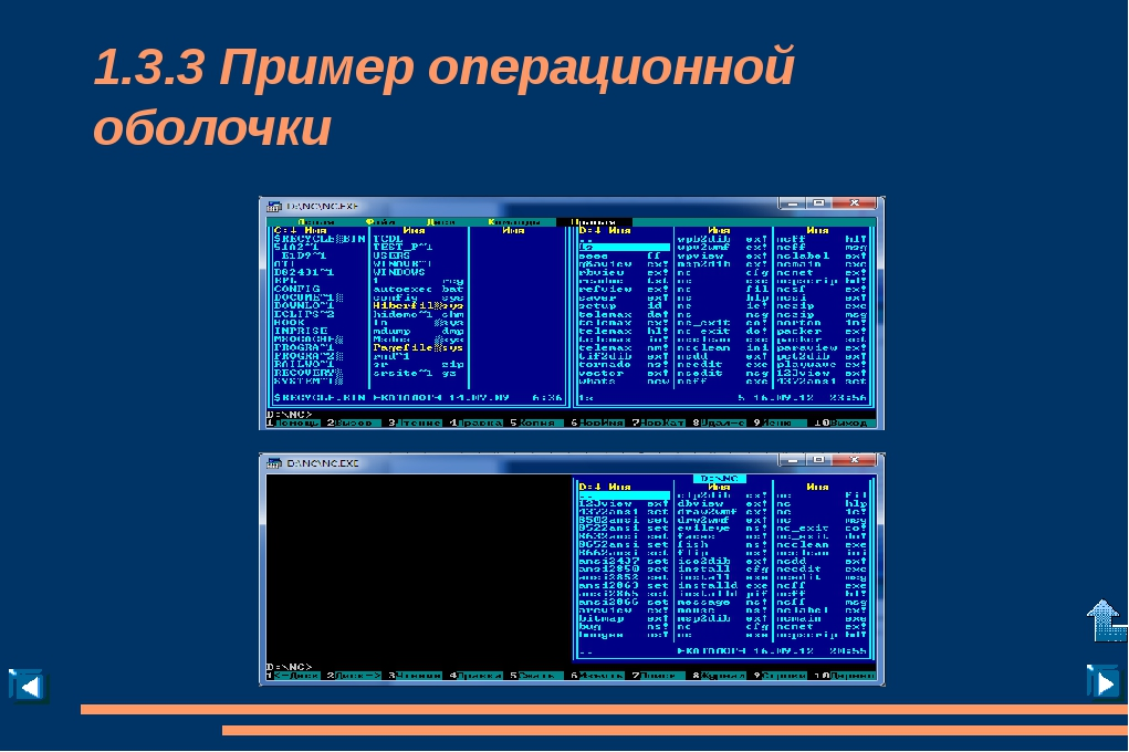 Примеры сетевых ОС (Novell NetWare)