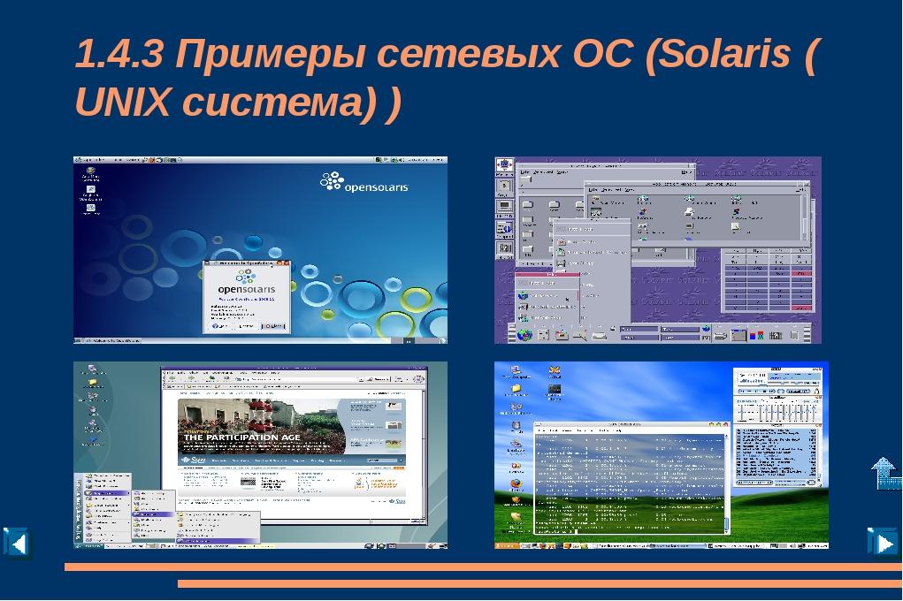 1.4.2 Возможности сетевых ОС Поддержка: - сетевого оборудования; - сетевых пр...