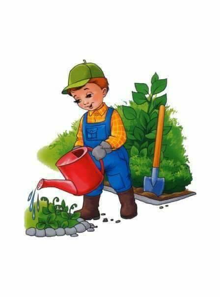 Поздравления марта, картинка садовника для детсада