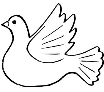 Картинки доброе, рисунок голубя на открытку