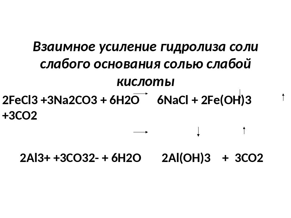 Определить, какие соли из перечисленных подвергаются гидролизу, какие из них...
