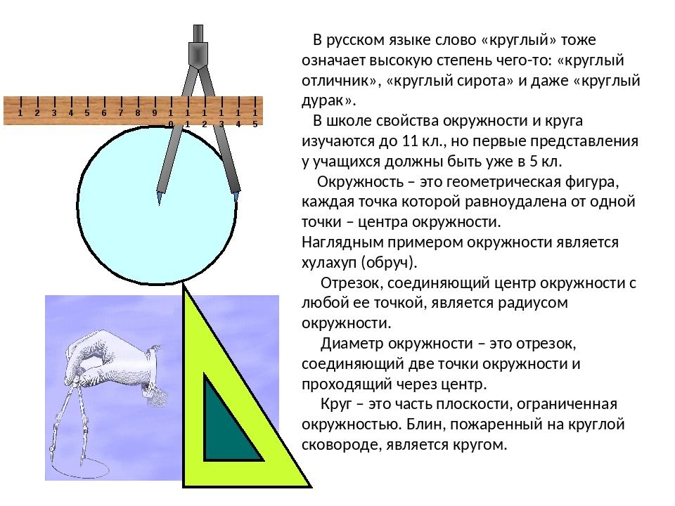В русском языке слово «круглый» тоже означает высокую степень чего-то: «круг...