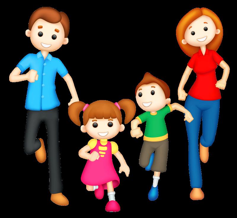Родители и дети мультяшные картинки