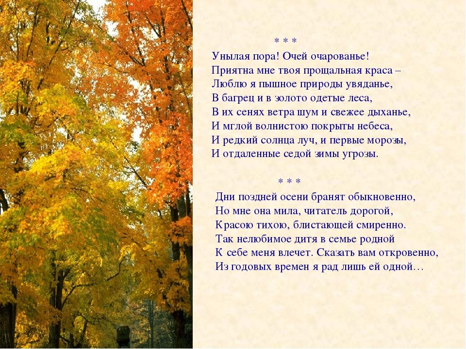 пушкин унылая пора очей очарование картинки