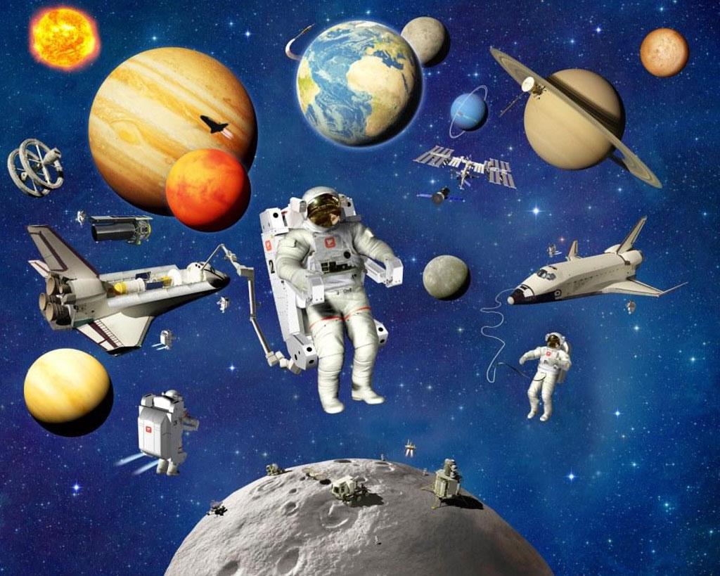 Картинки тема космос для детей, открытка открытки ручной