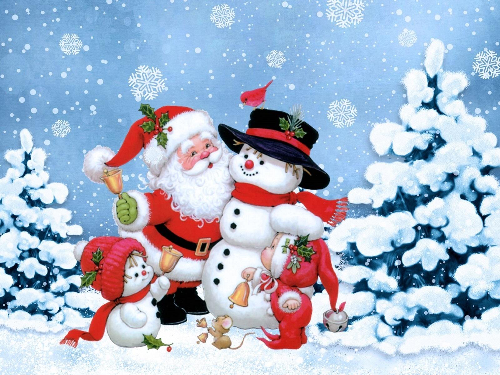 Новогодняя зима картинки для детей