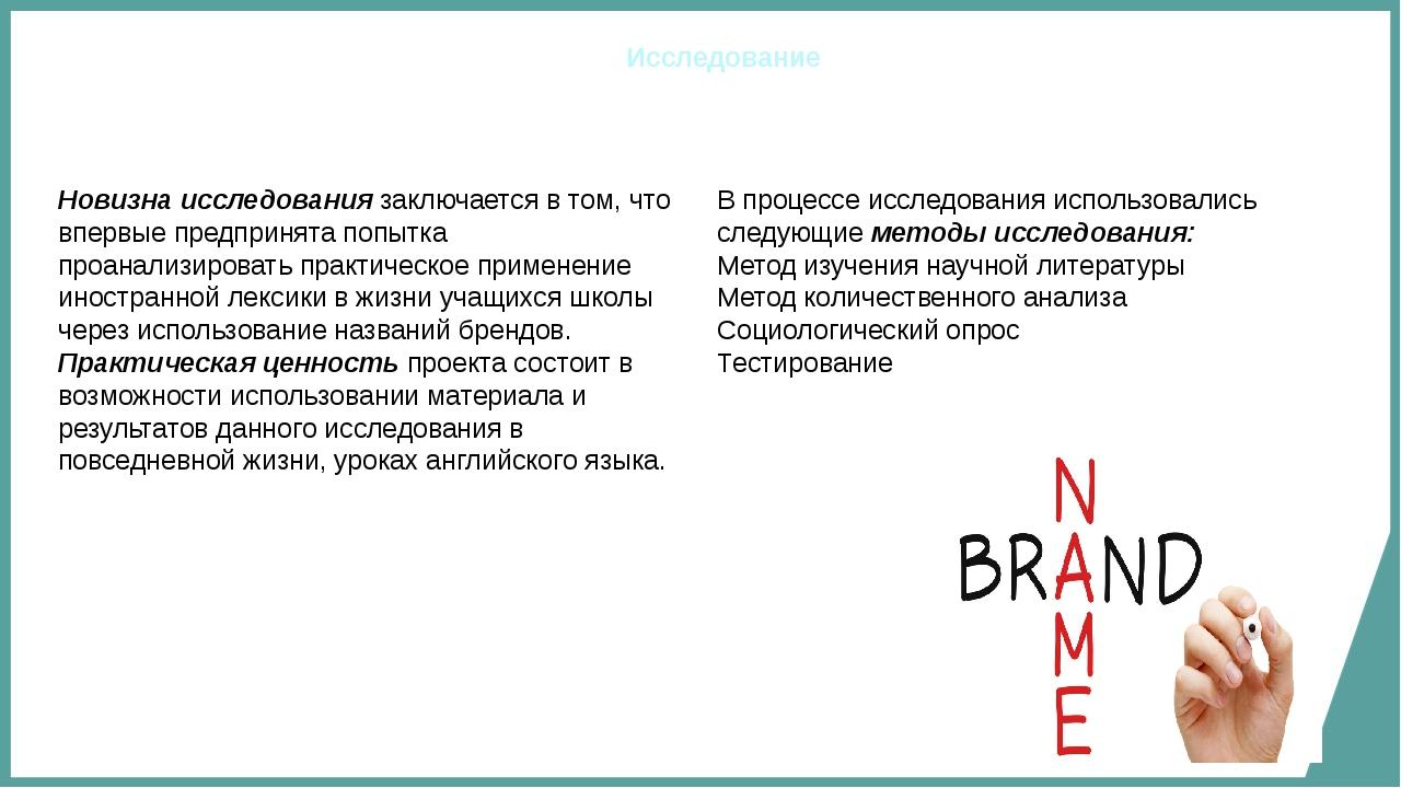 английские названия брендов