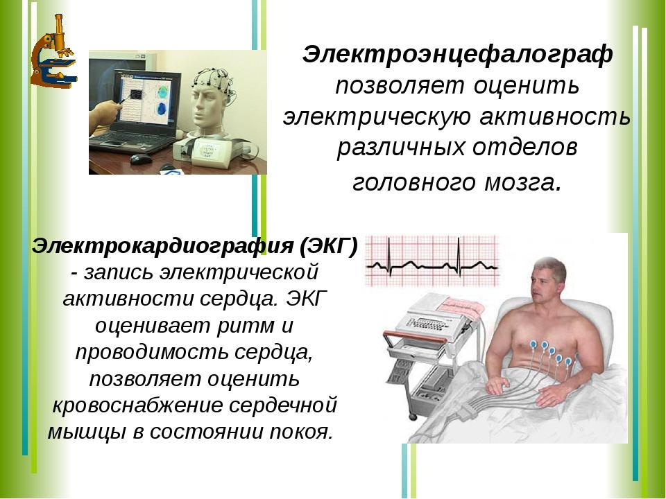 Электроэнцефалограф позволяет оценить электрическую активность различных отде...