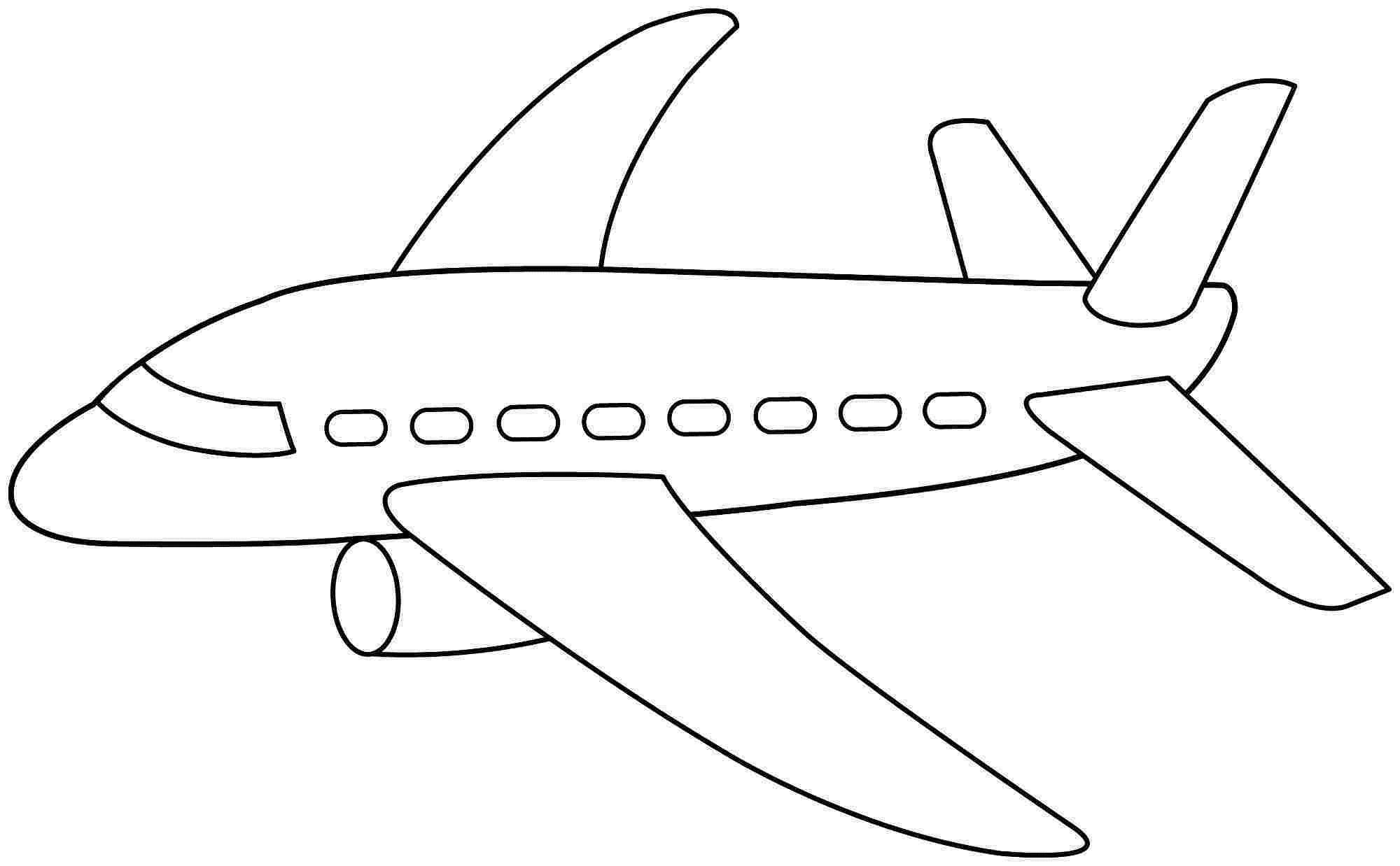 Шаблоны самолетов для открытки