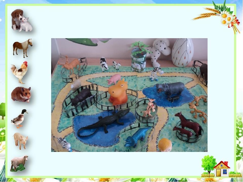 Картинки к сюжетно-ролевой игре зоопарк