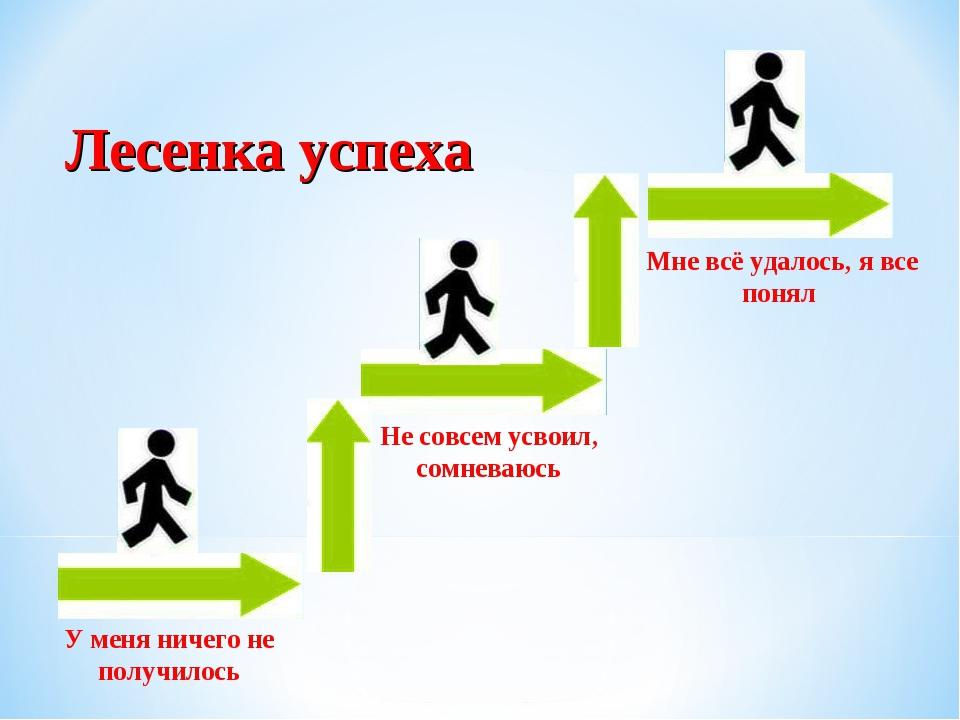 Картинка путь к успеху ученика