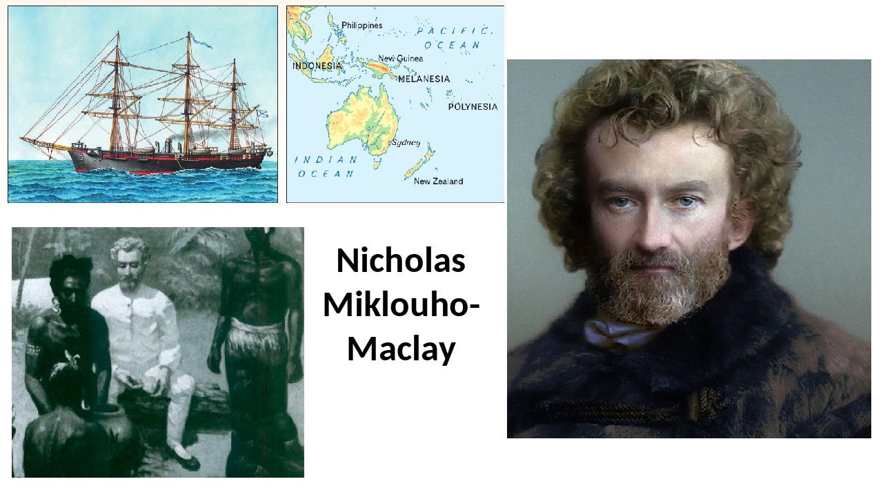 Nicholas Miklouho-Maclay