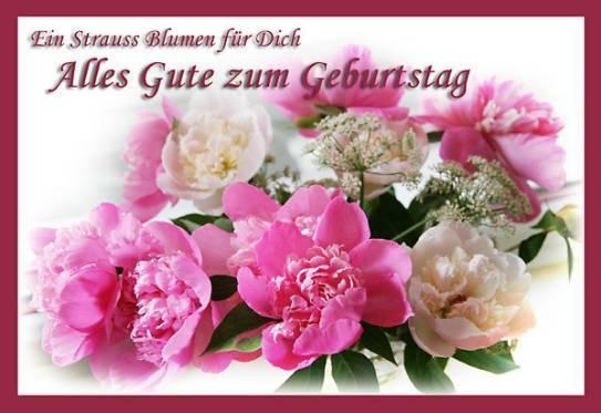Поздравительная открытка по немецкому языку