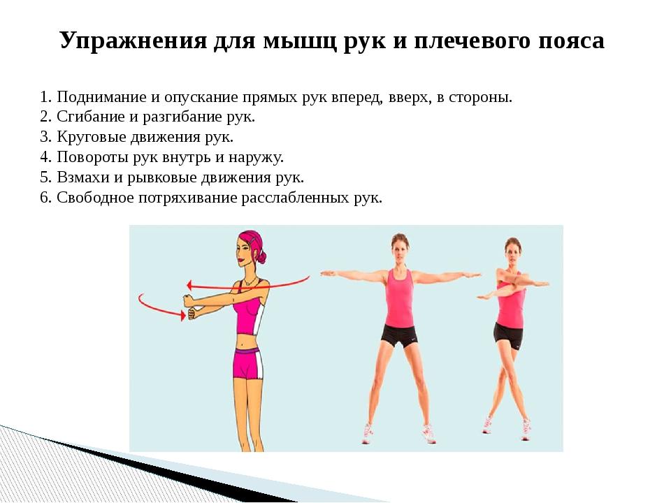 упражнения для рук с картинками и описанием для посадки
