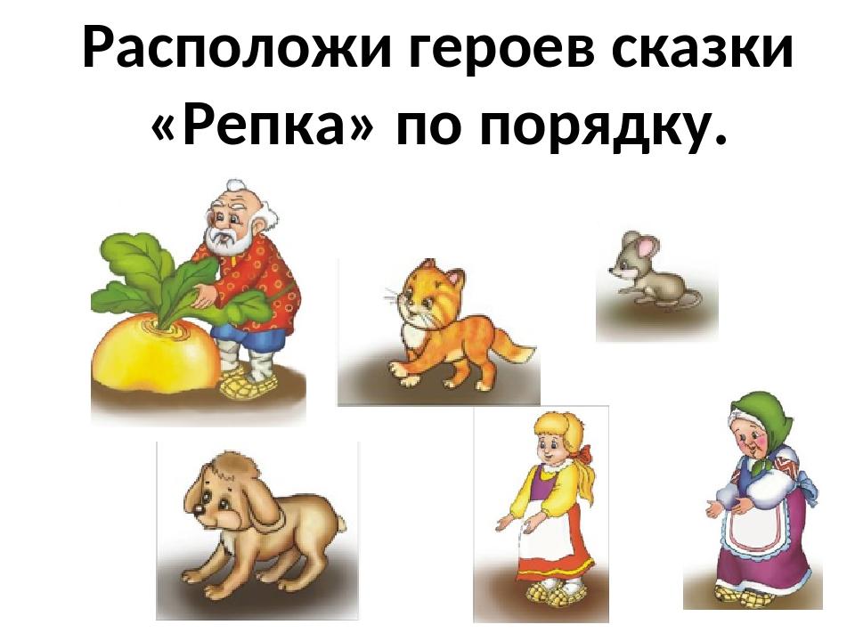 Сказочные герои сказки репка картинки