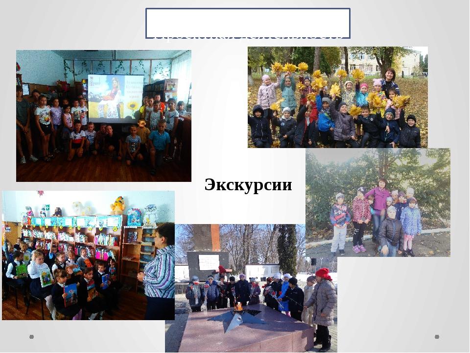 Проектная деятельность Экскурсии